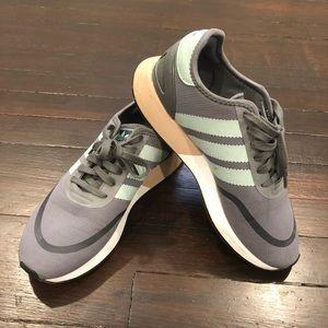 Adidas Grey & Mint N-5923 Sneakers